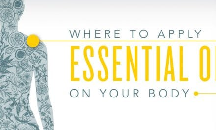 Where to apply essential oils on your body
