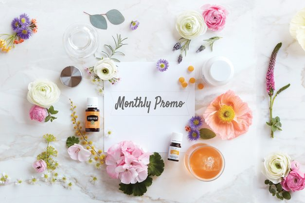 Young Living August Promo