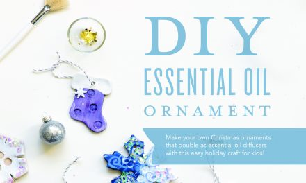 DIY Essential Oil Ornament