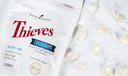 Thieves Essential Oil Infused Cough Drops