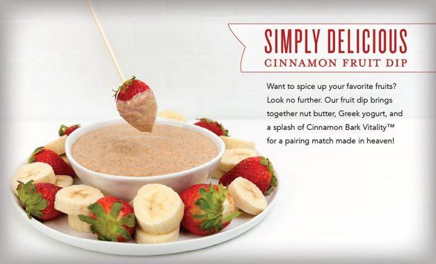 Simply Delicious Cinnamon Fruit Dip Recipe